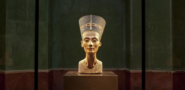Busto Nefertiti - Neues Museum - Berlim