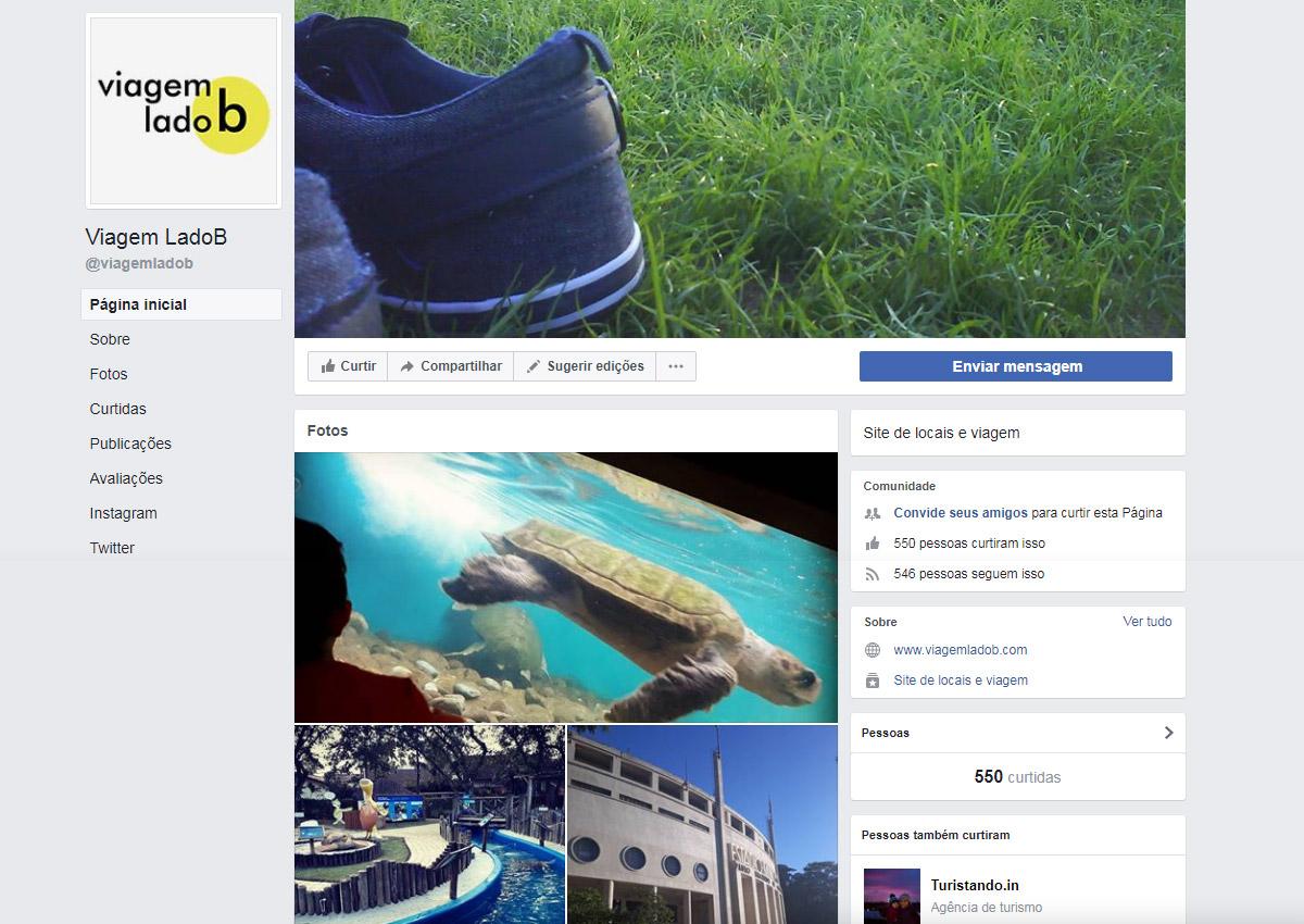 Facebook - Viagem LadoB