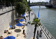 paris plage seine
