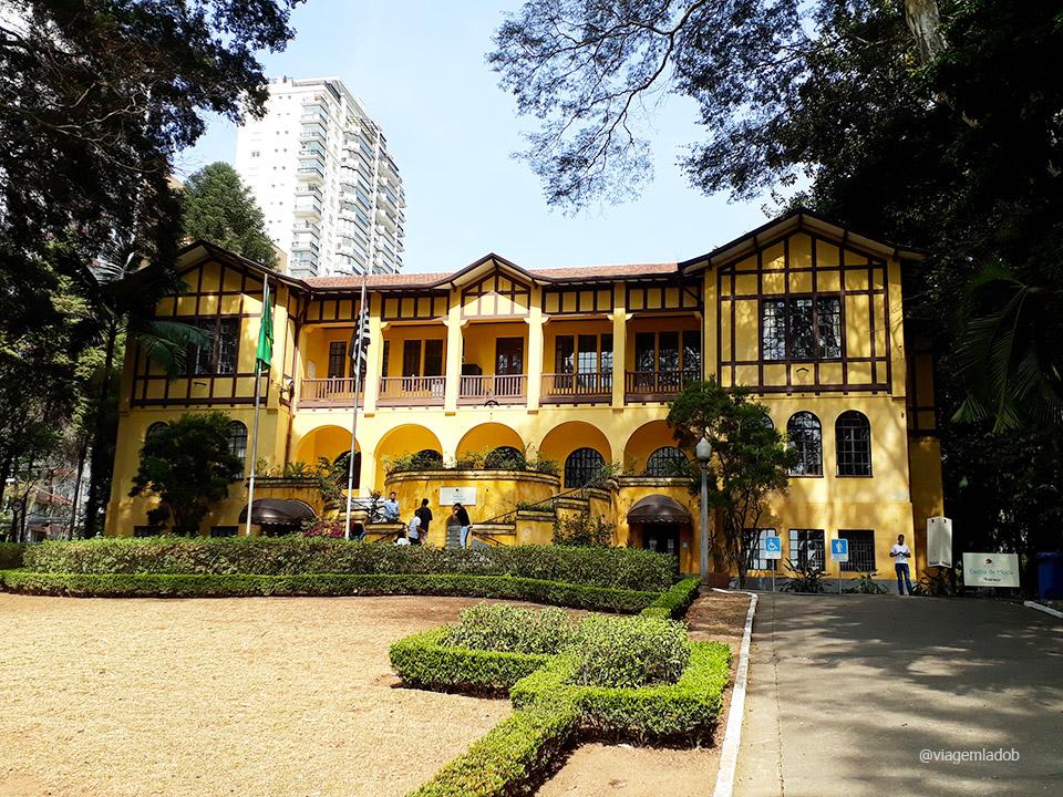 Parque da Água Branca - São Paulo - Entrada principal