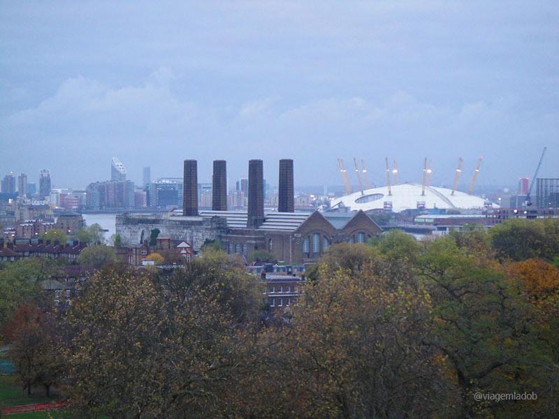 Parques em Londres - Greenwich - O2