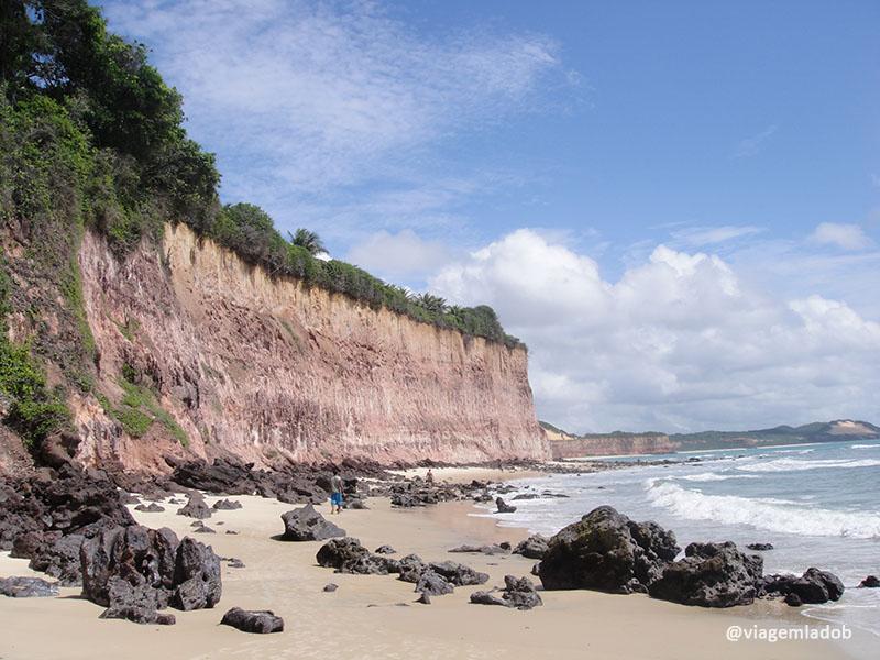 Praia de Pipa - Falésias