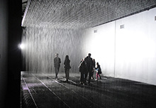rain room barbican