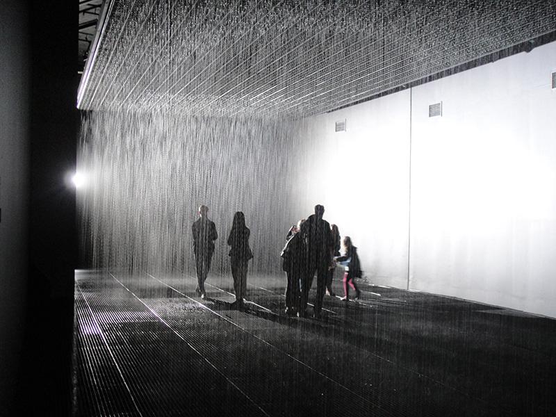 rain room barbican