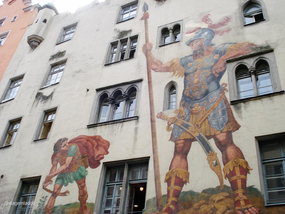 Regensburg - Mural