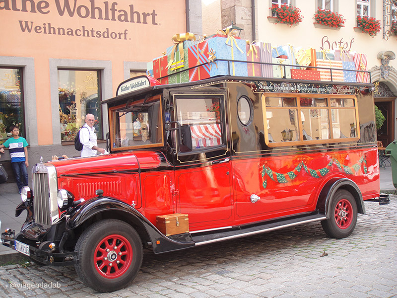 Rothenburg ob der Tauber - Kathe Wohlfahrt