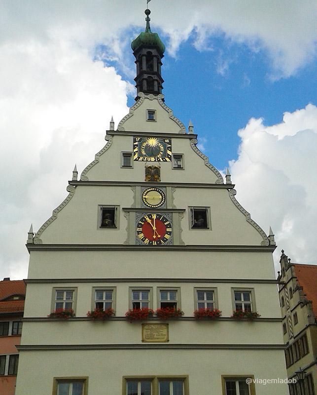 Rothenburg ob der Tauber - Relógio