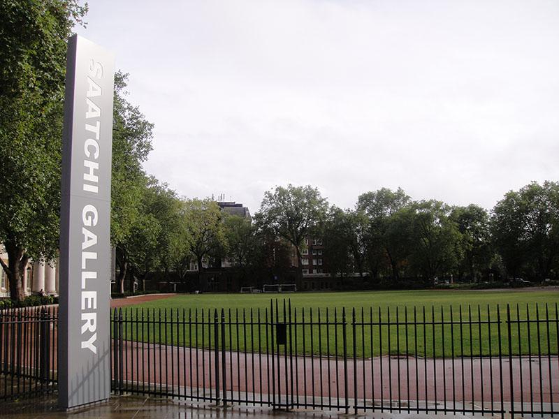 Saatchi Gallery - Londres