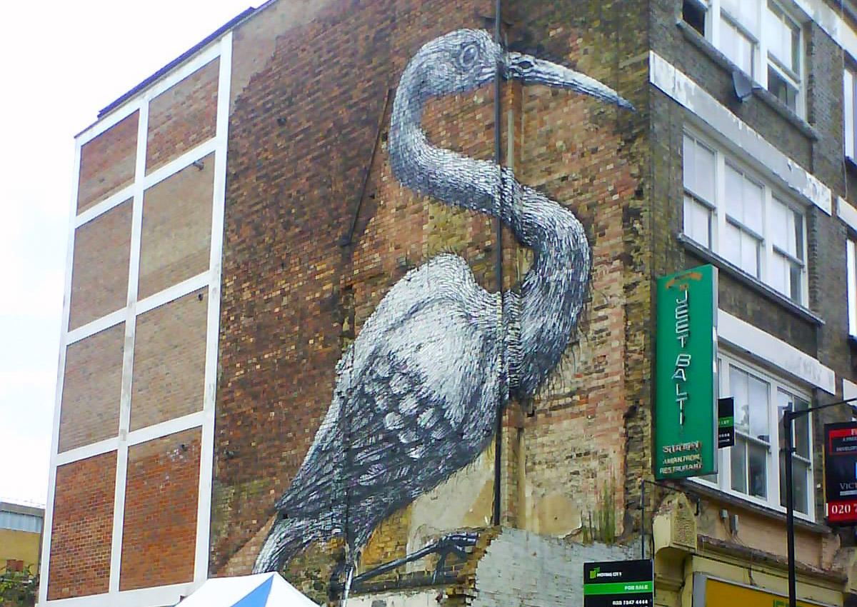 Street Art - Londres - Brick Lane