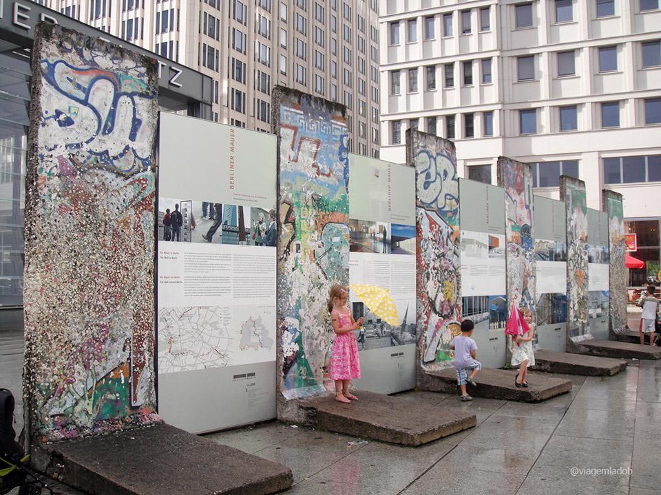 Street Art - Muros Potsdamer Platz - Berlim