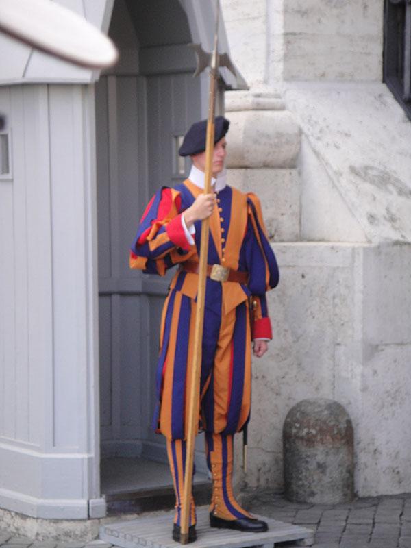 vaticano guarda suiça
